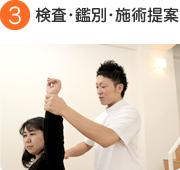 3.検査・鑑別・施術提案